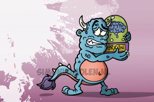 Monster Poster, illustratie Simon van der Molen