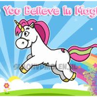 Unicorn illustratie