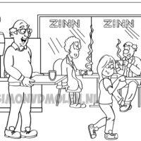 ZINN (thuis)zorg I Wonen en Welzijn, Kleurplaat Simon van der Molen