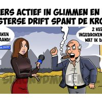 strip Haren de Krant, westerse drift